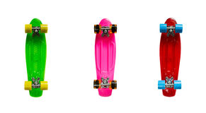 Mini cruiser fish skateboards Stock Image
