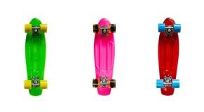 Mini cruiser fish skateboards Stock Image