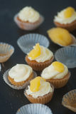 Mini cupcackes Zdjęcia Royalty Free