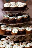 Mini cupcakes Stock Photos