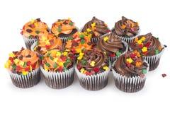 Mini Cupcakes stock foto's