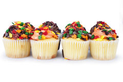 Mini Cupcakes stockfotos