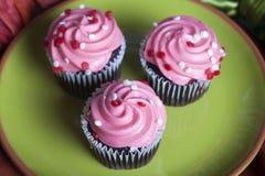 Mini Cupcakes royaltyfri fotografi