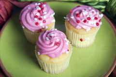 Mini Cupcakes fotos de stock royalty free