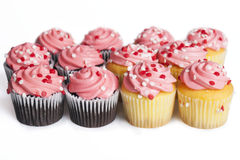 Mini Cupcakes foto de stock