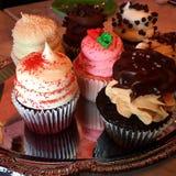 Mini Cupcakes Lizenzfreies Stockbild