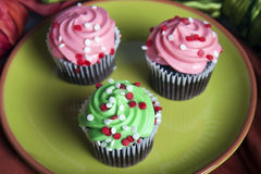 Mini Cupcakes Stock Images
