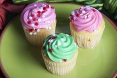 Mini Cupcakes Stock Photography