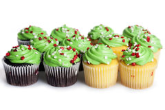 Mini Cupcakes royalty free stock photo