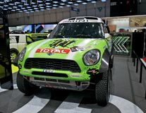 Mini Dakar race car Stock Photography