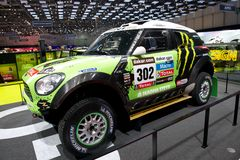 Mini Dakar race car Stock Photos