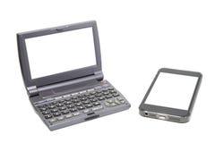 Mini- dator och Royaltyfri Bild