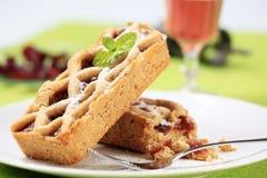 Mini dessert tarts Stock Photo