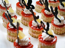 Mini Desserts foto de stock