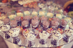 Mini Desserts fotos de stock