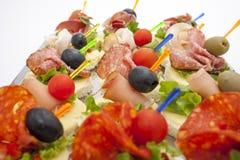 Mini desserts d'apéritifs Images stock