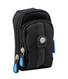 Mini small digital camera bag isolated  Royalty Free Stock Photography