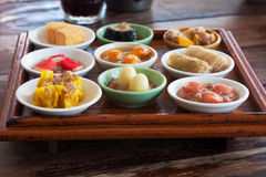 Mini dim sum set Stock Photography
