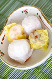 Mini dimsum Photographie stock