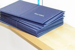Mini diplomas de MBA Foto de Stock Royalty Free
