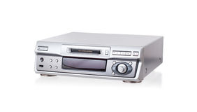 Mini-Disc player, isolated Royalty Free Stock Photo