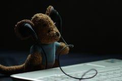 Mini-DJ stockfoto