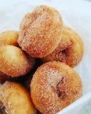 Mini- donuts arkivfoto