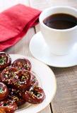 Mini donuts Fotografia Stock