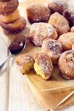 Mini donuts royalty free stock images