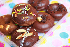 Mini donuts. Royalty Free Stock Images