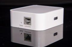 Mini draadloze router Royalty-vrije Stock Afbeeldingen