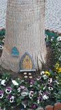 Mini drzewny dom Obraz Stock