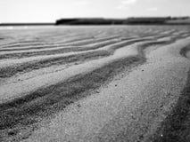 Mini dunas de areia Imagem de Stock