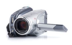Mini DV camera Royalty Free Stock Images