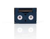 Mini DV cassette Stock Photography