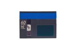 Mini DV cassette. On white background Stock Images