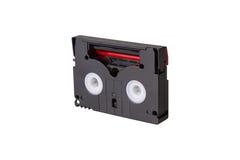 Mini DV cassettes. Isolated on white background Stock Image