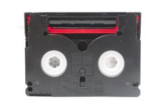 Mini DV Tape Royalty Free Stock Photography