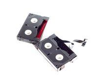 Mini DV Tape. Cassette tape Royalty Free Stock Photo