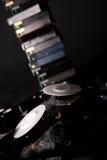 Mini DV tapes Stock Photography