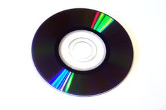 Mini dvd Stock Photo