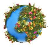 Mini Earth-planeet stock illustratie