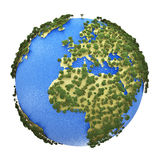 Mini Earth planet Royalty Free Stock Photos
