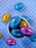 Mini Easter eggs Royalty Free Stock Photos