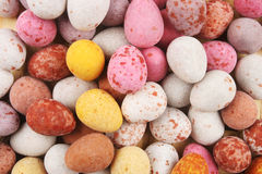 Mini Easter eggs Stock Photo