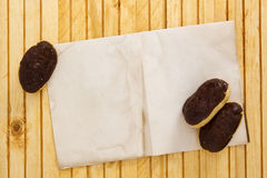 Mini eclairs Royalty Free Stock Photography
