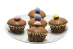 Mini Egg Cupcakes Royalty Free Stock Image
