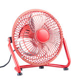 Mini electric fan Royalty Free Stock Image
