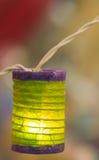 Mini electric lantern Royalty Free Stock Images