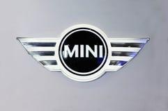 Mini embleem Stock Foto